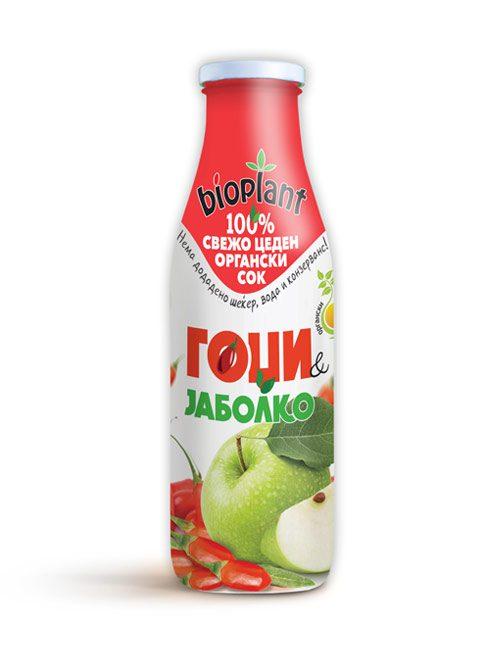 Биоплант органски сок од гоџи и јаболко 250 ml