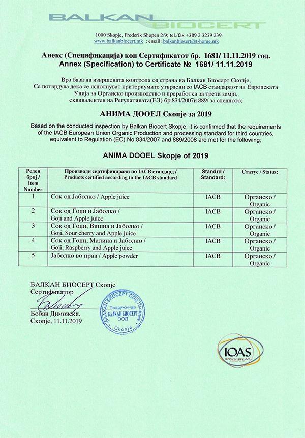 Certificate-Anima-DOOEL-2019