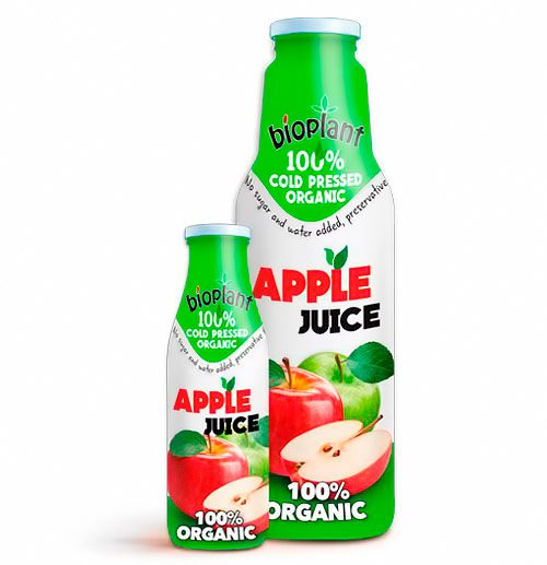 Bioplant Organic Apple juice
