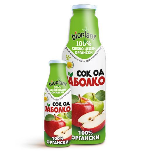 Биоплант Органски сок од Јаболко