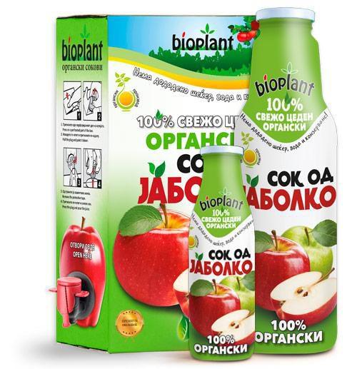 Органски сок од Јаболко