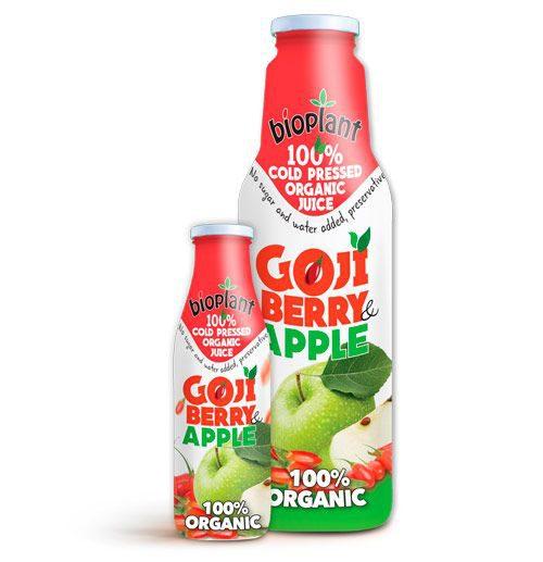 Goji Apple organic juices