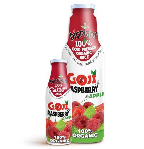 Bioplant Goji Raspberry organic juices