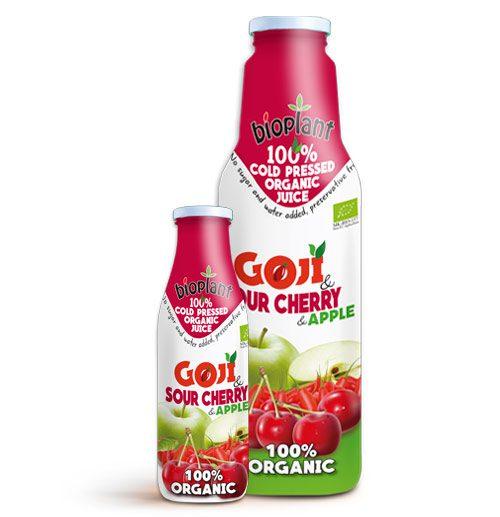 Bioplant Goji Sour Cherry organic juices