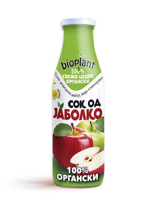 Bioplant органски сок од јаболко 250ml
