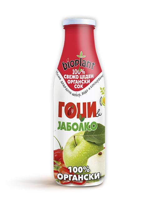 Bioplant органски сок од гоџи и јаболко 250ml