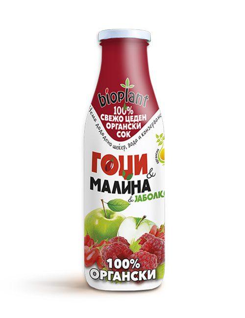 Bioplant органски сок од гоџи и малина 250ml
