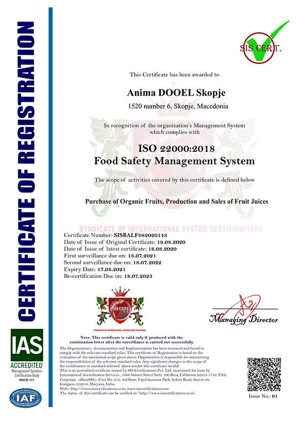 ISO-22000-Certificate
